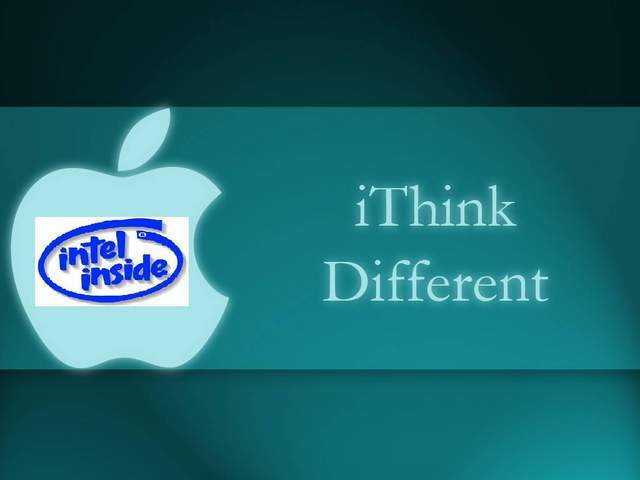 Apple w/ Intel Inside