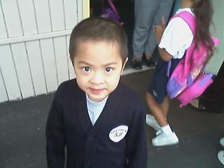 Jesse at his new school…