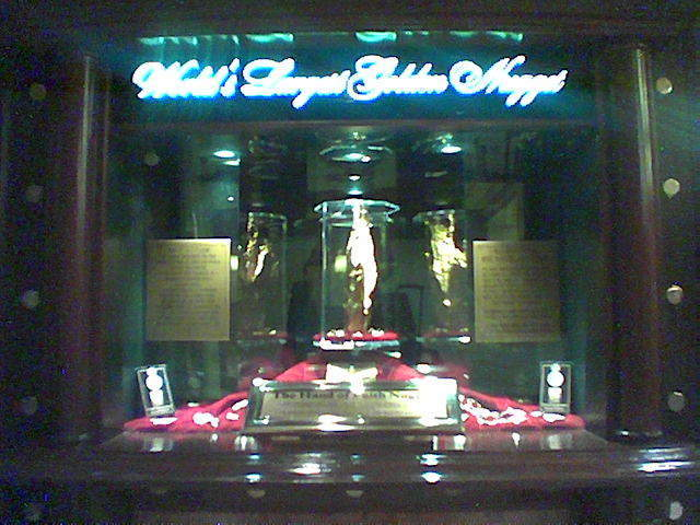 The &quot;Golden Nugget&quot; at the Golden Nugget - Las Vegas, NV