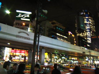 Tokyo at night