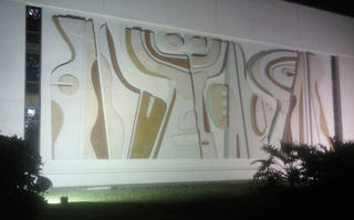 The Mural at Night