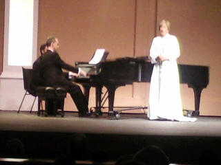 Dame Kiri at the CBA