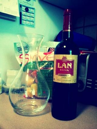 Crianza with dinner tonight