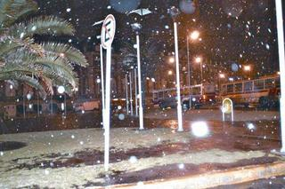 Snow in Mar del Plata 2