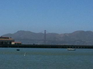 Hazy Golden Gate