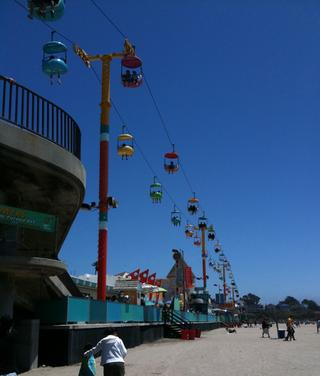 Santa Cruz Boardwalk Rides