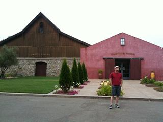 Doug at Valley of the Moon winery