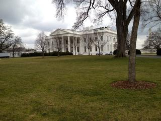 Pics from touring around on 2/16 -- the White House
