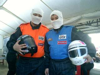 Karting with Jason & Jason :-)