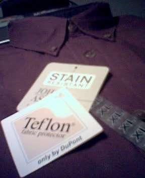 Teflon shirt
