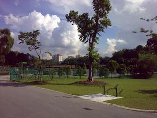 On towards Kent Ridge Park