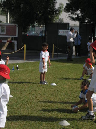 Reception class - 1st Sports Day in DESS