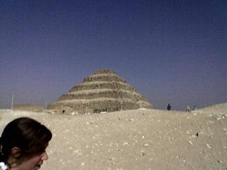 The Step Pyramid Of Zoser