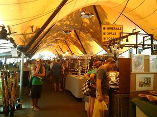 The Rocks Markets, Sydney.