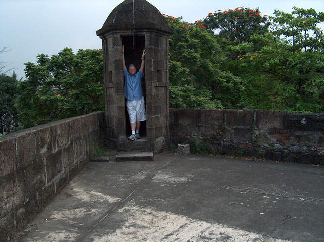 "Standing Guard Over ""Old Manila"""