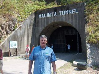Your phlogger outside the Malinta Tunnel on Corregidor Island