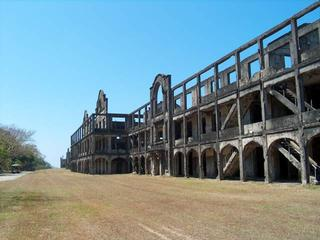 Mile Long Barracks, Corregidor Island, Manila Bay