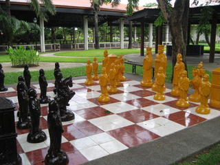 GARDEN CHESS AT ISLAND COVE RESORT, CAVITE