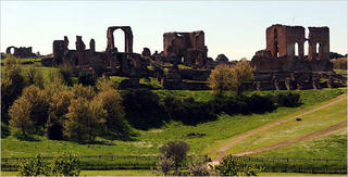 The Appian Way, outside Rome, Italy