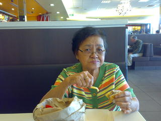 Mother at MacD