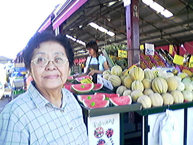 Mother at the Dandenong Market