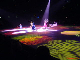 Da var showet igang. Disney on Ice er fa