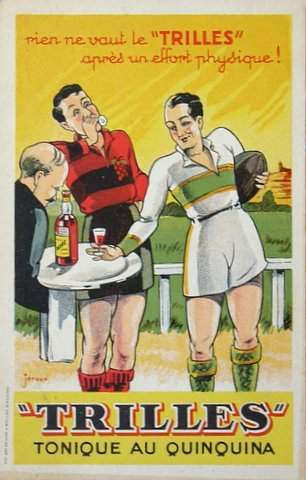 French advertising postcard, 1930s