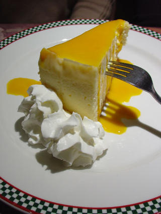 Mango Cheese cake at Pasta Polo