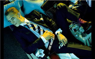 BUSINESS CLASS (L'Uomo Vogue 2005)