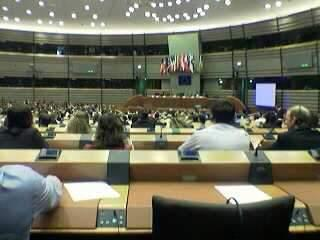 European Parliament Hemi-cycle