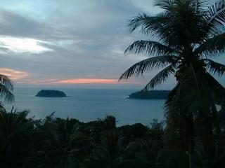 Sunset over Phuket
