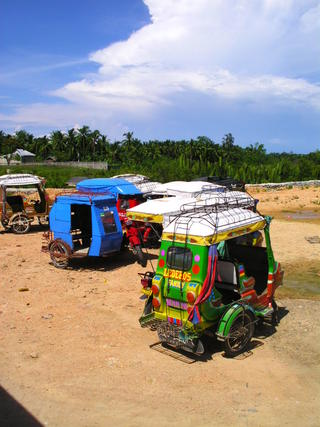 The Philippines Taxi rank