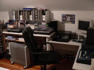 Studio....wide shot