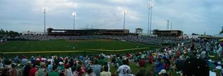 Panoramic view from center field