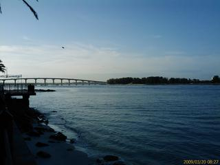 Sand Key bridge and park