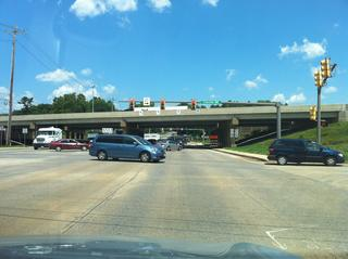 Looking north on 501 at the 30 bypass intersection