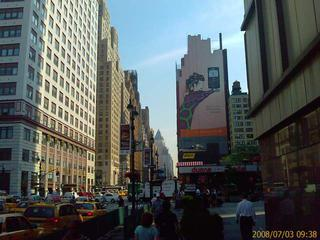 Looking up 8th Ave from about 35th St